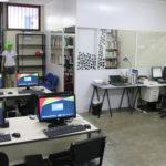 Coworking e sala de reuniões