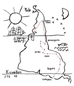 América Invertida, de JoaquÍn Torres Garcia (1943)